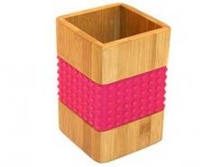 Подставка для столовых приборов Н 15см бамбук