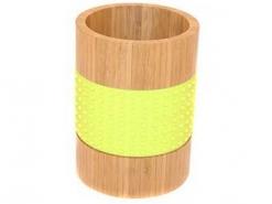 Подставка для столовых приборов Н 17,8см бамбук
