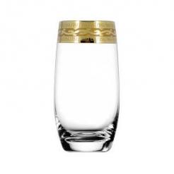 """Набор 6 стаканов для коктейля 6 шт с узором """"Версаче"""" синяя уп."""