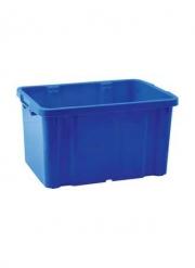 Ящик для хранения штабелируемый 60л синий
