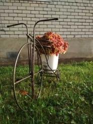 Подставка для цветов на 2 горшка «Велосипед»