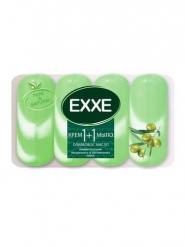 """Туалетное крем-мыло """"EXXE"""" 1 1 """"Оливковое масло"""" 4шт*90г"""