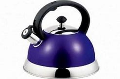 Чайник нерж 2,5л со св фиолетовый TM Appetite