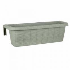Балконный ящик с крючками RONDINE PAGLIA 60см