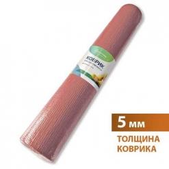 Коврик универсальный для занятия йогой 61х173 см микс толщина 0,5см